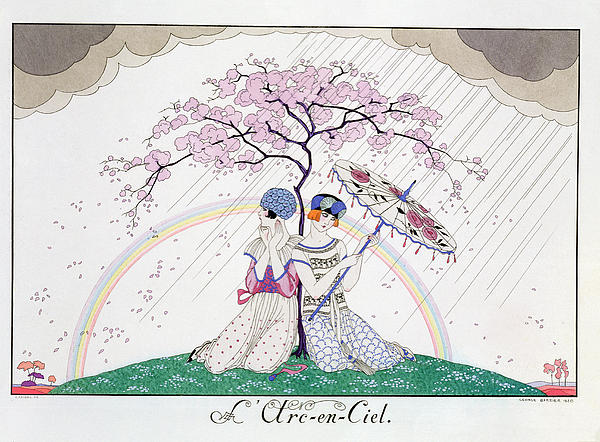 The Rainbow Print by Georges Barbier
