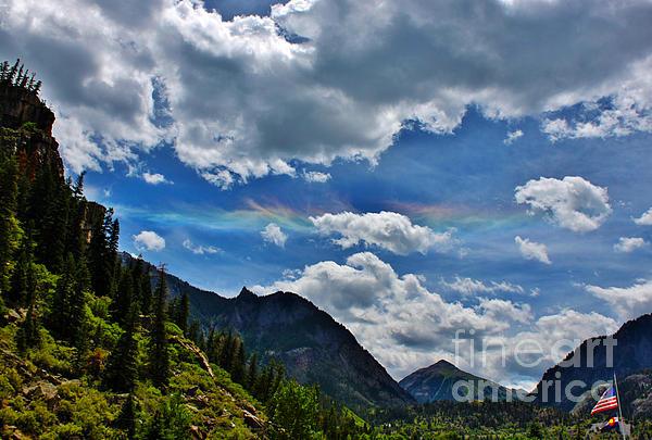 The Rare Phenomena Rainbows Print by Janice Rae Pariza