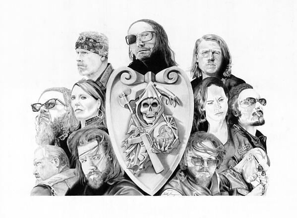 The Reaper Crew Print by Keith Larocque
