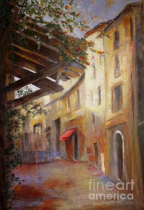 Madeleine Holzberg - The Red Awning