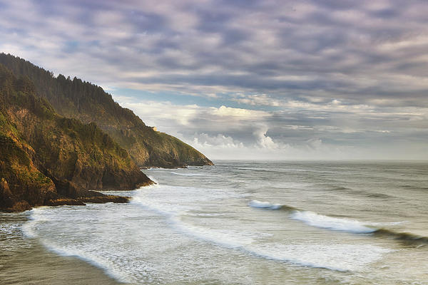 The Remote Coast Print by Andrew Soundarajan