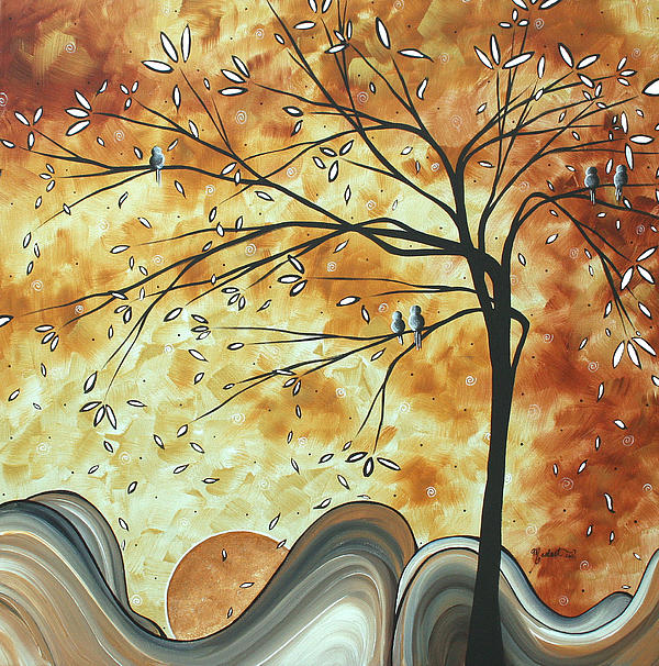 The Resting Place By Madart Print by Megan Duncanson