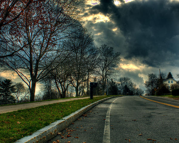 The Road Print by Tim Buisman