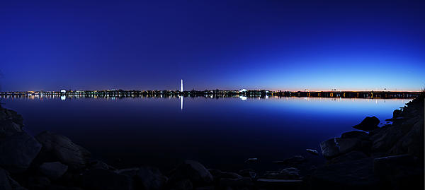 The Rocks Of The Potomac Print by Metro DC Photography