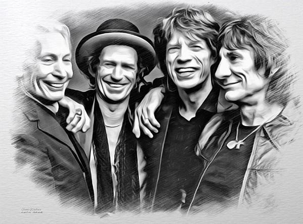 Scott Wallace  - The Rolling Stones Sketch