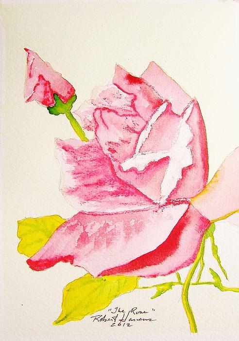 The Rose Print by Robert  ARTSYBOB Havens