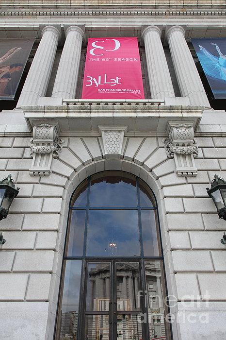 The San Francisco War Memorial Opera House - San Francisco Ballet 5d22582 Print by Wingsdomain Art and Photography