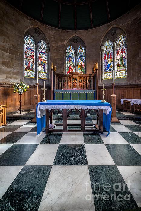 The Sanctuary Print by Adrian Evans