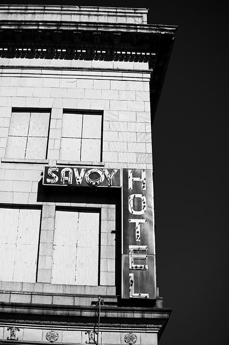 The Savoy Hotel Print by Karol  Livote