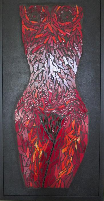 The Scarlet Woman Print by Alison Edwards