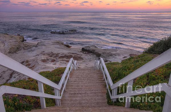 The Sea Is Calling Print by Eddie Yerkish