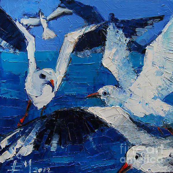 Mona Edulesco - The Seagulls