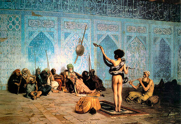 The Serpent Charmer Print by Jean Leon Gerome
