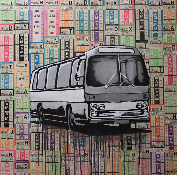The Shame Train Print by Kate Tesch