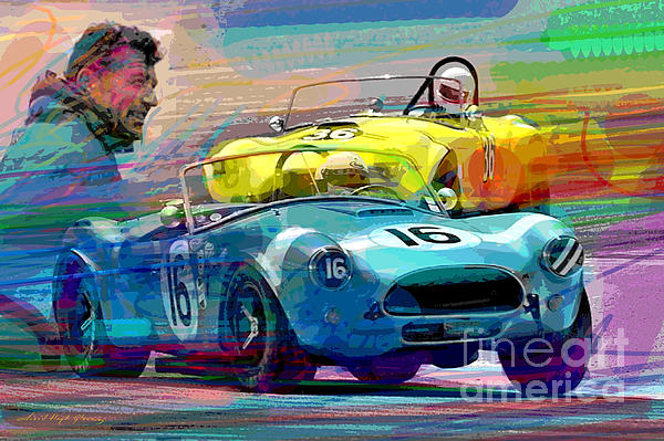 The Shelby Legacy Print by David Lloyd Glover