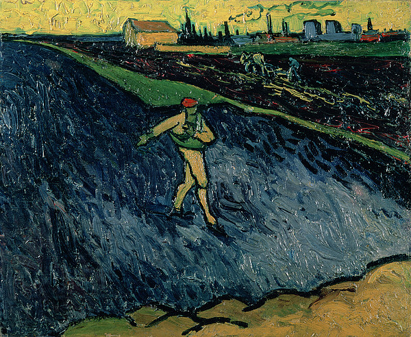 The Sower Print by Vincent van Gogh