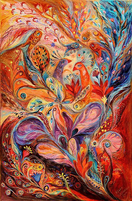 The Story Of Wild Iris Print by Elena Kotliarker