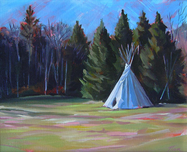 Nancy Griswold - The Tipi