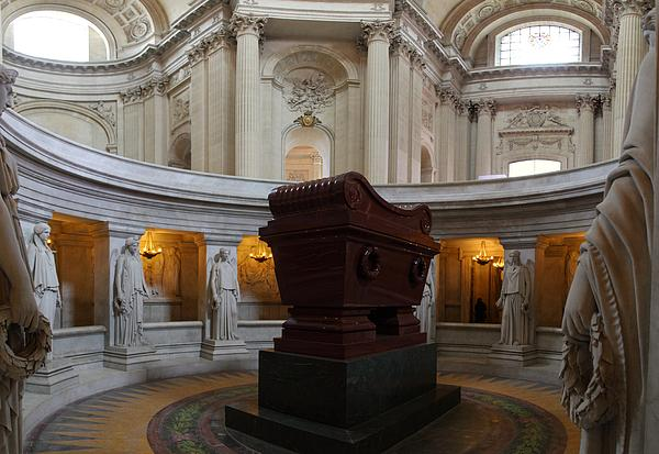 The Tombs At Les Invalides - Paris France - 011328 Print by DC Photographer