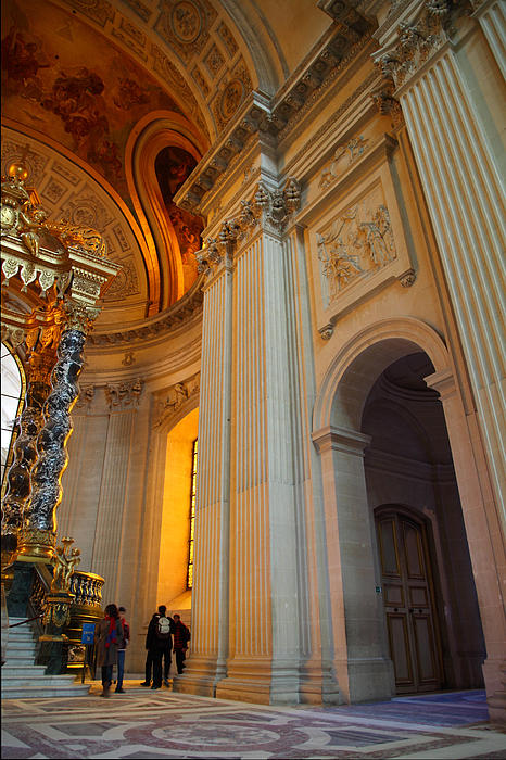 The Tombs At Les Invalides - Paris France - 01138 Print by DC Photographer