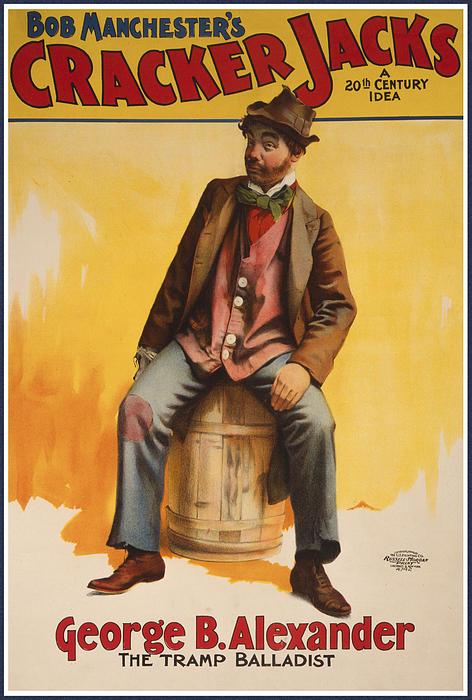 The Tramp Balladist Print by Aged Pixel
