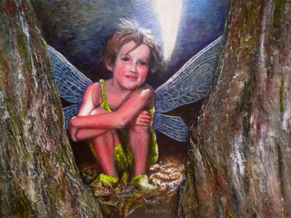 The Tree Fairy Print by Michael Durst