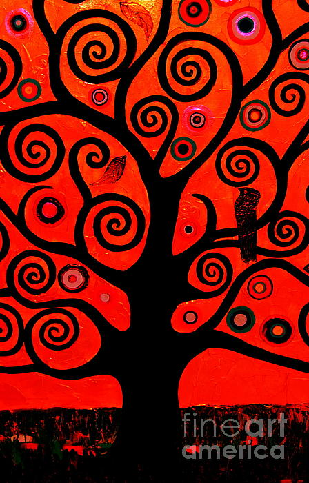 Samantha Black - The Tree Of Life Red