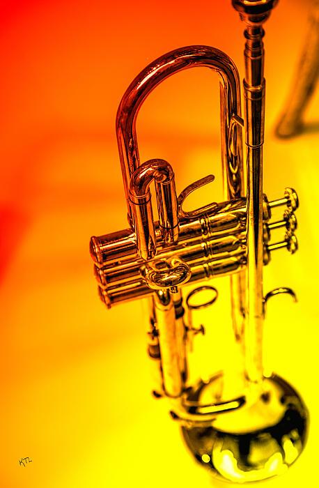 The Trumpet Print by Karol  Livote