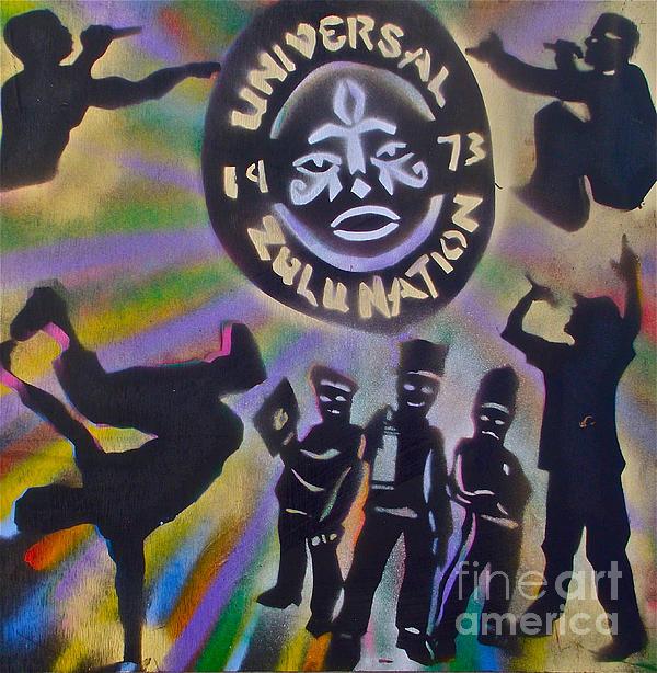 The Universal Zulu Nation Print by Tony B Conscious