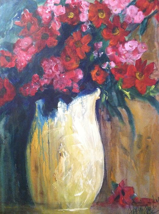 The Vase Print by Sherry Harradence