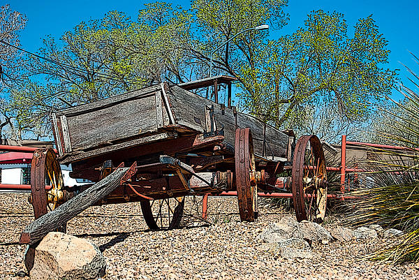 The Wagon Print by Don Durante Jr