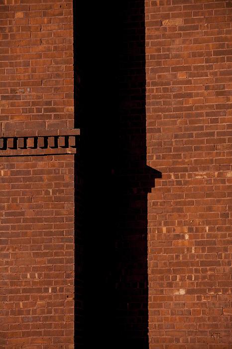 The Wall Shadow Print by Karol  Livote