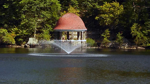 James Turnbull - The Water Fountain at Cogshall Park Fitchburg Massachusetts 1