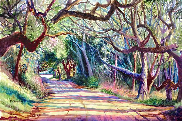 The Way Home Print by Alice Grimsley