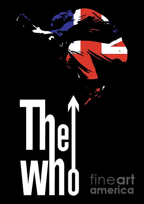 The Who No.01 Print by Caio Caldas
