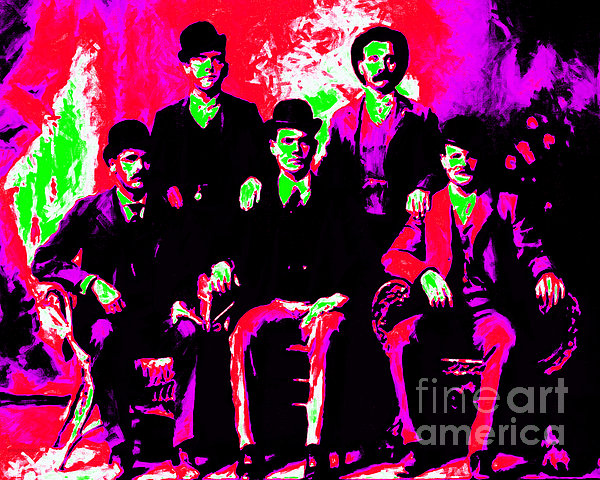 The Wild Bunch 20130212 Print by Wingsdomain Art and Photography