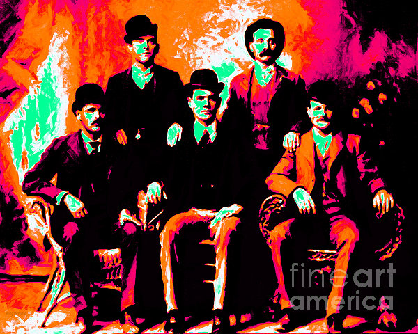 The Wild Bunch 20130212p38 Print by Wingsdomain Art and Photography