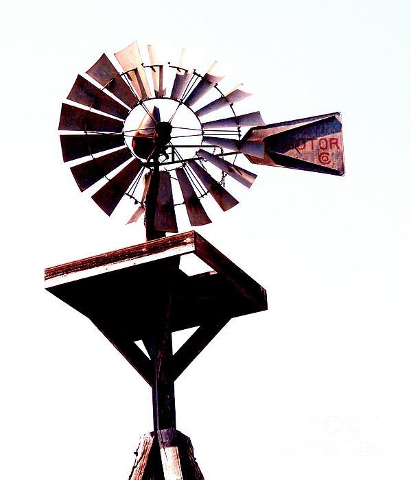 The Windmill Print by Avis  Noelle