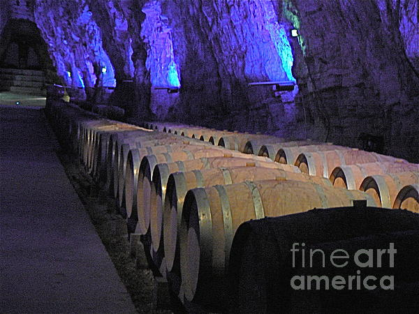 The Wine Cave Print by France  Art