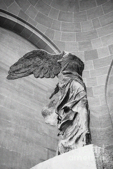 The Winged Victory Print by Patricia Hofmeester