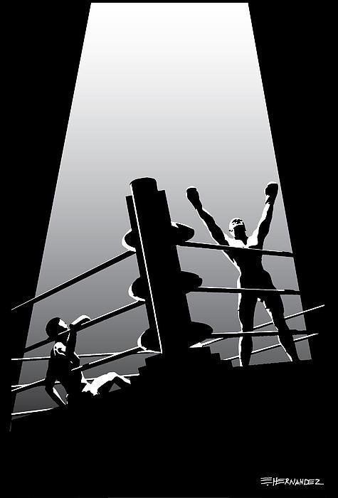 The Winner Print by Ed Hernandez
