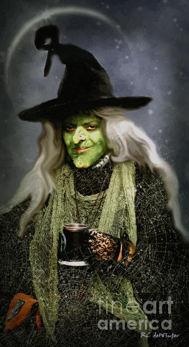 The Witch Of Endor As A Cavalier Print by RC DeWinter