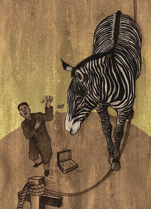 The Zebra Print by Dirk Dzimirsky