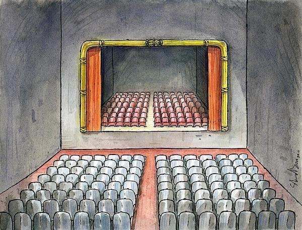 Theater Print by Dimitrios Kordalis