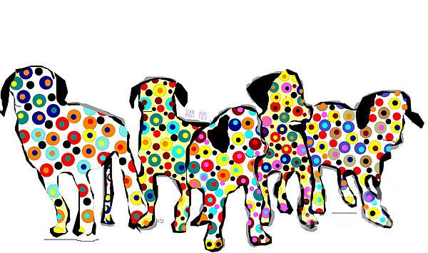 Them Pups Print by Bri Buckley