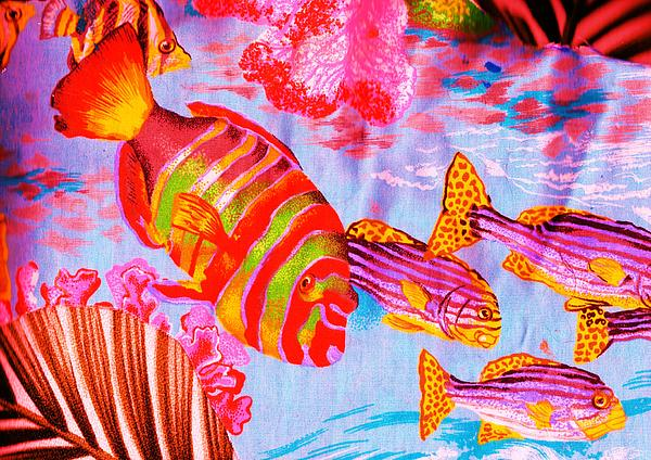 There's Something Fishy Goin' On   Print by Anne-Elizabeth Whiteway