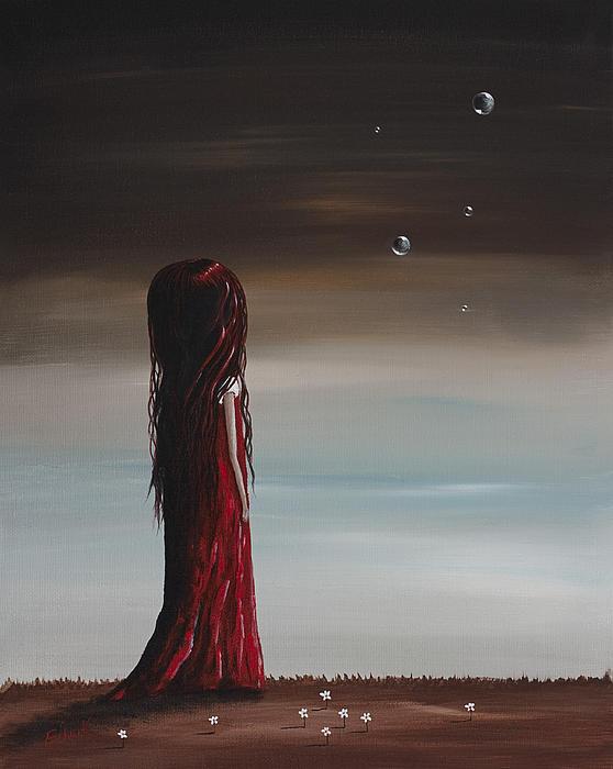 They Say She's A Dreamer By Shawna Erback Print by Shawna Erback
