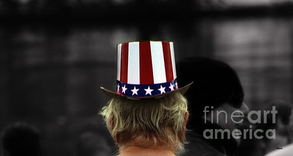 Things That Are Hat Print by Steven  Digman