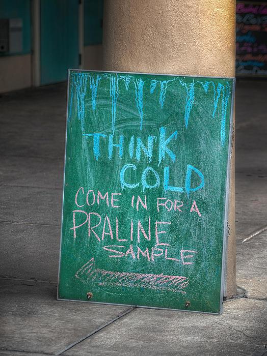 Think Cold Print by Brenda Bryant