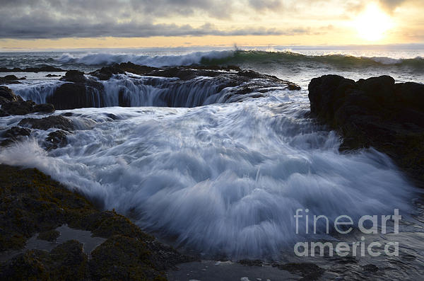 Thors Well 2 Print by Bob Christopher